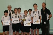 George Farnworth, Mr Matt Johnson and the Gymnastics Competition competitors