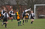 U12s in action