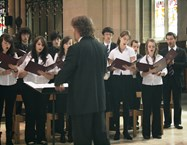The Joint Chamber Choir perform their free lunchtime concert