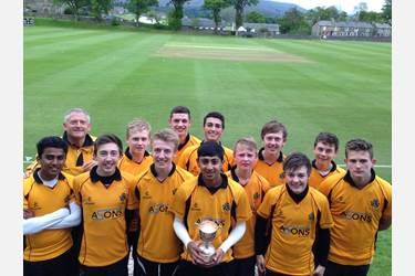 The School cricket team has become the N-W T20 Champions after securing victory at Sedbergh School