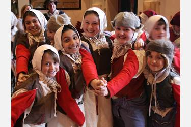 Junior Girls are Tudors for a Day