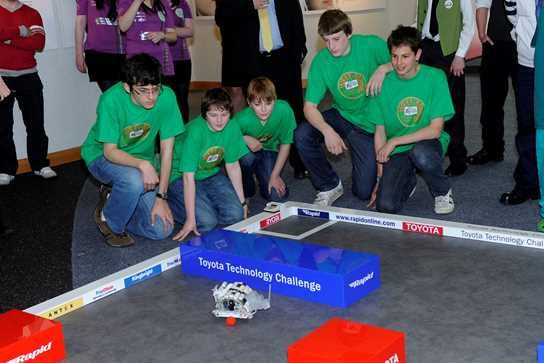 The Recyclopaths came second in the National Final