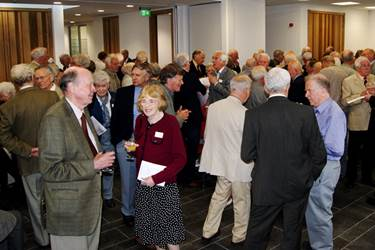 The Riley Centre was full of chatter during the drinks reception
