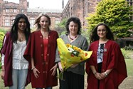 Carol Ann Duffy and Sixth Form girls