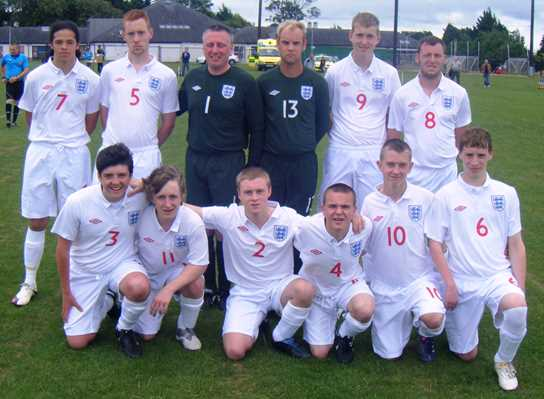 England Cerebral Palsy Development Football Squad