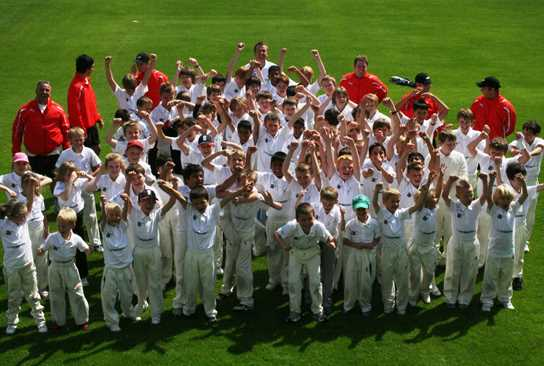 Bolton School hosts the Andrew Flintoff Cricket Academy