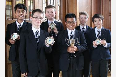 Junior Boys chess team