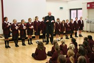The Reverend Morris engages his audience