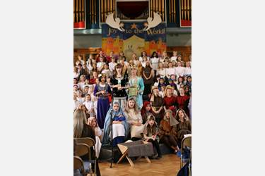 Junior Girls Nativity