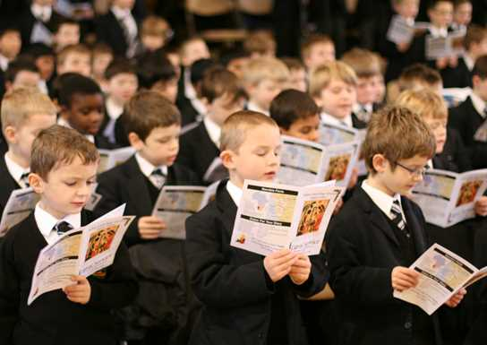Junior Boys Carol Concert