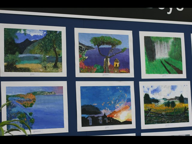 Year 6 Art On Public Display