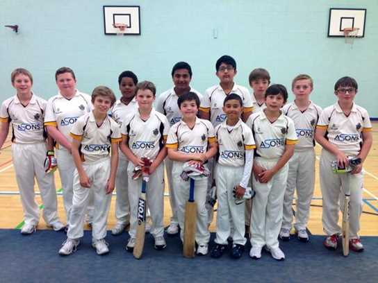 Playing indoors did not hinder the U12s, who overcame St Joseph's to progress to the 4th Round of the County Cup