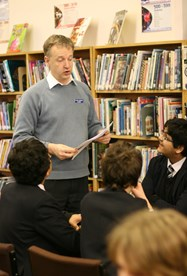Publishing Workshop with author Mark Robson