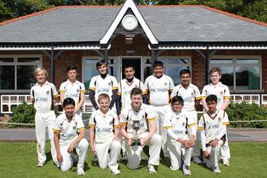 The team with the Lancashire Cup