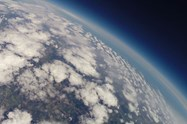 The camera took photographs and video from the stratosphere