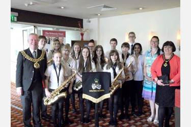 The musicians who performed for the Bolton Carers Support Group