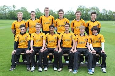 The 1st XI cricket team