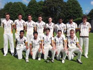 The U15s Cricket Team
