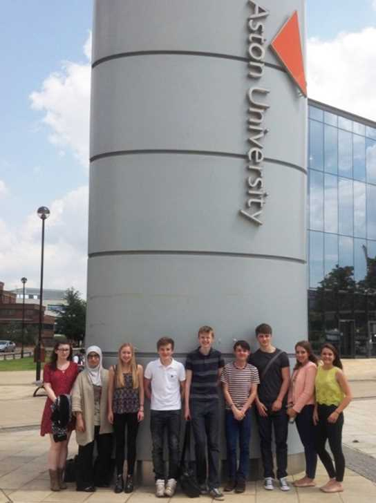 The Sixth Form Students at Aston University