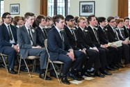 Sixth Form boys ahead of the 2014 Prizegiving