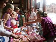 Junior Girls Sweet Sales Raises Hundreds for Charity