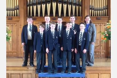 The Boys' Division Brass Ensemble