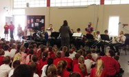 The performance was a hit at Kearsley West Primary School