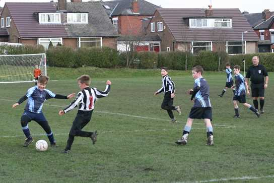 The Bolton School team were up against Bury Grammar School in the final