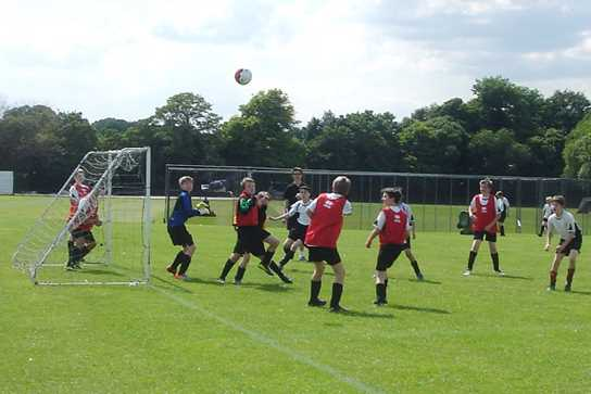 Year 7 competed in a Fairtrade Football Tournament