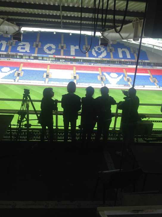 All access tour of the Macron Stadium