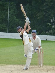 The 1st XI played to a high standard on the day