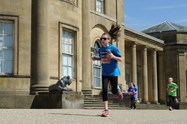 Amy took part in the Junior Manchester Run in Heaton Park