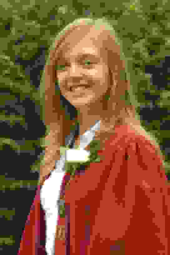 Jessica Smith, Head Girl 2008-09