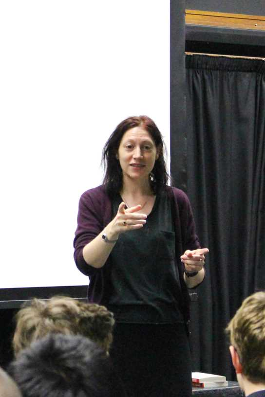 Natalie Haynes at Bolton School