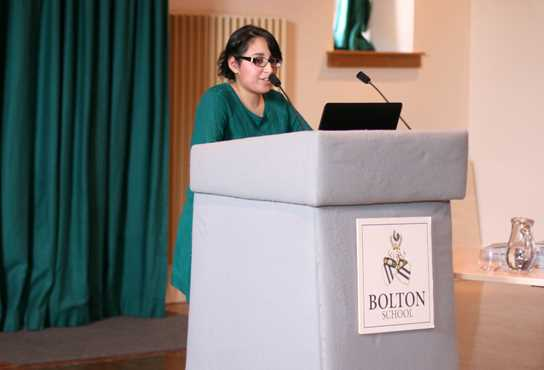 Sarah Ahmed spoke about the realities of being a Medical student