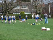 Sale Sharks Rugby Training Camp