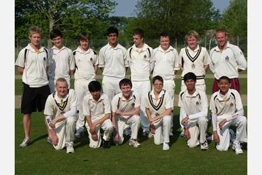 The U15 team won two of the three matches on the tour