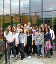 The 17 students worked in two teams to produce some creative radio productions