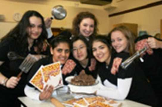 Sixth Formers' Recipe for Success