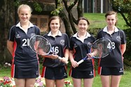 The Year 10 Tennis Team