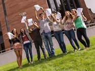 Students celebrate excellent results