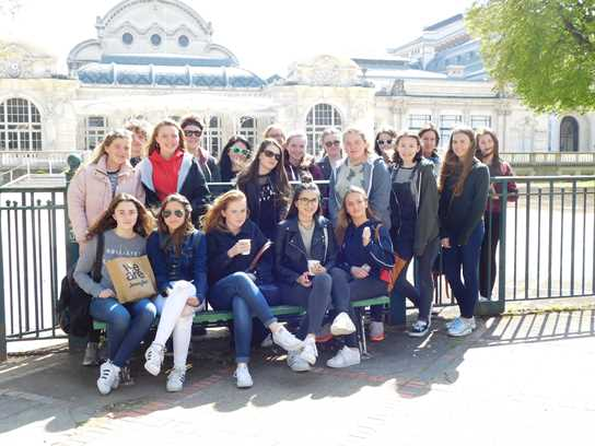Pupils on the French Exchange