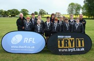 The Bolton School Under 13 Rugby team