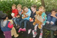 Going down to the woods for a Teddy Bear Picnic