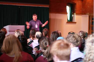 Professor Maynard talks Sport Psychology in the Arts Centre
