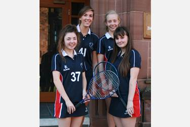 The U16 tennis team enjoyed success in the Aegon Schools Regional tennis competition