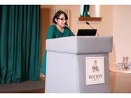 Sarah Ahmed, a former Bolton School pupil, spoke about the realities of being a Medical student