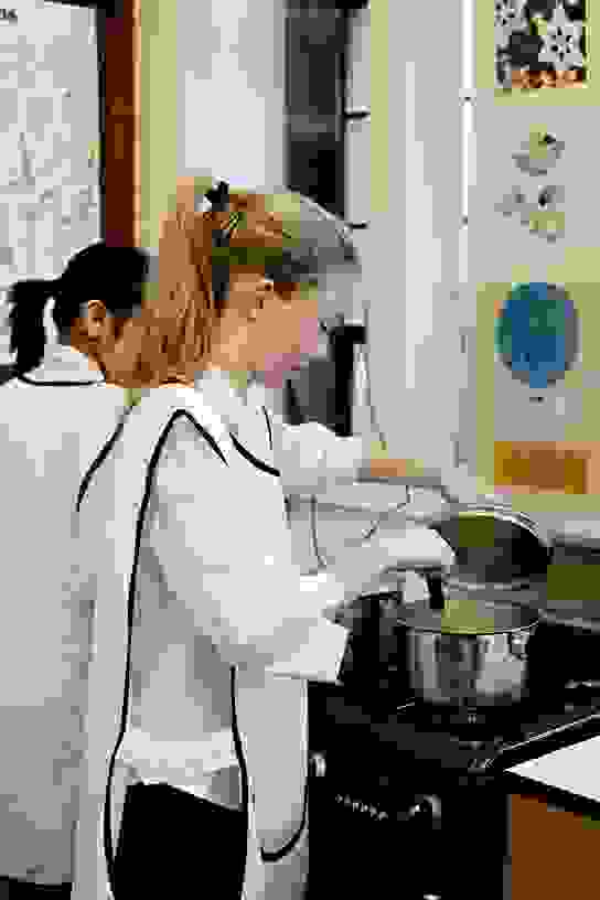 Bolton School Senior Girl in Food Technology class