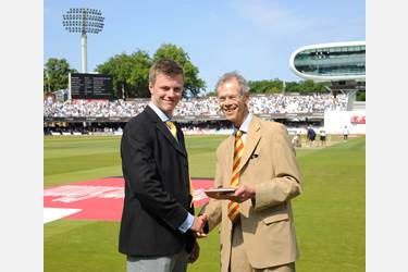 Giles Makinson at Lord's