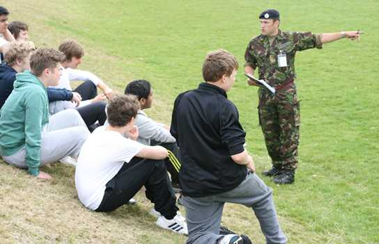 The Army at Bolton School